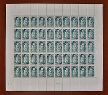 Feuille Complète De 50 Valeurs FRANCE - 1947 . Y&T N° 788 ** . Voie De La Liberté 6f+4f - Feuilles Complètes