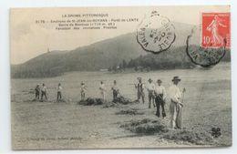 CPA 1909 DROME GROS PLAN ANIME FOINS FENAISON ST JEAN ROYANS LENTE MONTUEZ TBE - Autres Communes