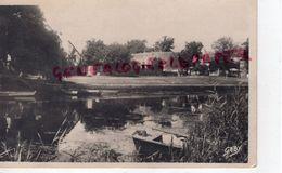 44 - NORT SUR ERDRE - LE PORT MULON - CARTE PHOTO 1950 - Nort Sur Erdre
