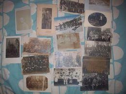 Lot De 17 Cartes Photos Militaires Allemandes - 1914-18