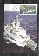Frégate FLOREAL - Mission Aux TAAF - Escale à KERGUELEN -TàD PORT AUX FRANCAIS 16/05/13 Sur Timbres TAAF - Storia Postale