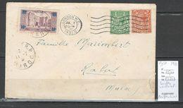 Maroc - Lettre De Londres Pour Le Maroc - Repostée Par Le British Post Office à Rabat - 1931 - Rare - Marocco (1891-1956)