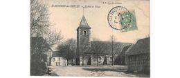 Saint Bonnet En Bresse  / Eglise Et Place - Francia