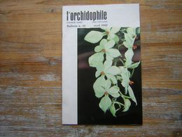L'ORCHIDOPHILE Douzieme Annee  BULLETIN N° 46  AVRIL 1981 - Garden