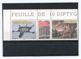 DIPTYQUE TAPISSERIE D'AUBUSSON - NEUF** - Unused Stamps