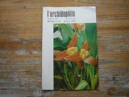 L'ORCHIDOPHILE Troiziéme Année  BULLETIN N° 50 FEVRIER 1982 - Garden