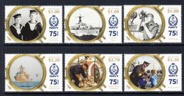 2016 New Zealand Navy Military Ships Complete Set Of 6 MNH @ Below Face Value - New Zealand