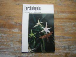 L'ORCHIDOPHILE Douziéme Année  BULLETIN N° 48 OCTOBRE 1981 - Garden
