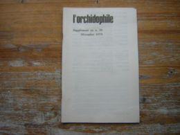L'ORCHIDOPHILE SUPPPLEMENT AU N° 39 DECEMBRE 1979 - Garden