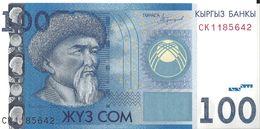 KIRGHIZISTAN - 100 Som 2017 - UNC - Kirghizistan