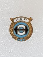 Badge Fédération Argentine D'haltérophilie - Badge Argentinian Weightlifting Federation - Gewichtheben - Halterofilia