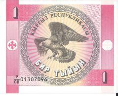 KIRGHIZISTAN - 1 Som 1993 - UNC - Kirghizistan