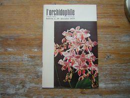 L'ORCHIDOPHILE Dixieme Année BULLETIN  N° 39 DECEMBRE 1979 - Garden