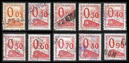 PETITS COLIS  1960 -  YT  31 à 40 - Oblitérés - Cote  51.50e - Parcel Post
