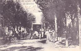 1631/ Un Saluto Da Riccione, Viale Al Mare, Oude Auto, Mensen, 1907 - Other Cities