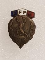 Badge Fédération Française D'haltérophilie - Badge French Weightlifting Federation - Gewichtheben - Années 50 - FFPH - Gewichtheben