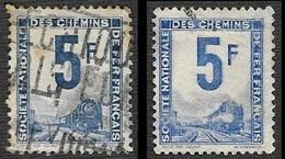 PETITS COLIS  1944-47  - YT  4 Et 4A - Oblitérés - Cote 3.80e - Parcel Post