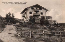 """ALBERGO ALPINO E PENSIONE ALLA """"TANN"""" SUL RENON - BOLZANO - NON VIAGGIATA - Bolzano (Bozen)"""