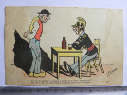 CPA - Illustrateur CADET - POMPIER Humour - Tu Vas Te Brûler D'estomac à Boir De L'alcool ... - Other Illustrators