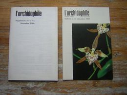 L'ORCHIDOPHILE Onzieme Année BULLETIN N° 44 DECEMBRE 1980 + SUPPLEMENT - Garden
