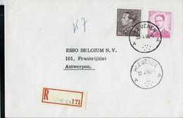 Doc.  De HOEVENEN - A A - Du 30/04/66 En Rec. - Marcophilie