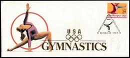United States USA 1992 / Olympic Games Barcelona / Gymnastics - Ete 1992: Barcelone