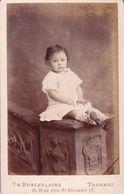 Enfant Famille POLLET De Tournai  Photo CDV Par BRACKELAIRE Début Des Années 1890 - Old (before 1900)