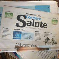 CORRIERE SALUTE 1 NUMERO - Libros, Revistas, Cómics