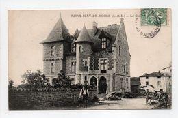 - CPA SAINT-IGNY-DE-ROCHE (71) - Le Château - - France