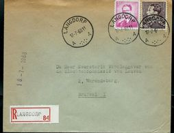 Doc.  De LANGDORP - A A - Du 17/07/68 En Rec. - Marcophilie