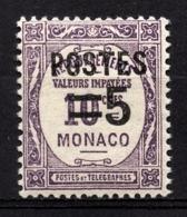 MONACO 1937 - Y.T. N° 140 - NEUF** /2 - Nuevos