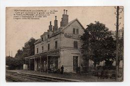 - CPA PONTANEVAUX-LA-CHAPELLE (71) - La Gare - Edition P. Charvet - - France