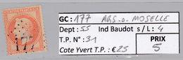 GC 177 Ars -s-Moselle ( Dept 55 ) S / N° 31 - 1849-1876: Periodo Classico
