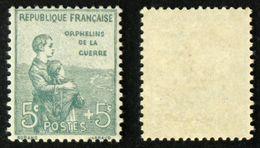 N° 149 ORPHELIN 5c+5c Neuf N** TB Cote 80€ - Unused Stamps