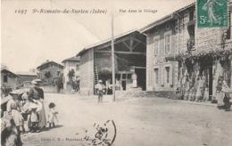 ***  38 *** St Romain De Surieu Vue Dans Le Village PLI Peu Génant - - Andere Gemeenten