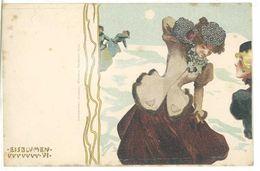 KIRCHNER ? - Femme Art Nouveau - Les Sblumen -  (1388 ASO) - Ilustradores & Fotógrafos