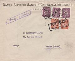 Portugal Lettre Par Avion Pour La France 1940 - Lettres & Documents