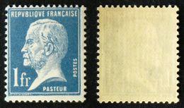 N° 179 1F Bleu PASTEUR Neuf N** TB Cote 50€ - 1922-26 Pasteur