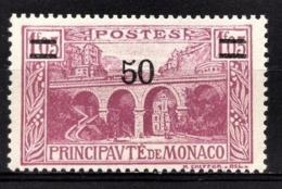 MONACO 1924 / 33  - Y.T. N° 106 - NEUF ** /1 - Unused Stamps