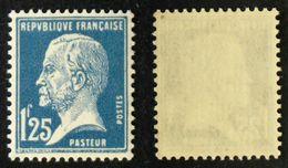 N° 180 1,25F Bleu PASTEUR Neuf N** TB Cote 55€ - 1922-26 Pasteur