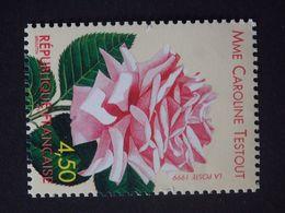 N°3249 LUXE** - Rose 'Madame Caroline Testout' - 4f50 - Gomme D'origine - Issu Du Bloc BF24 - Nuevos