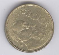 MEXICO 1992: 100 Pesos, KM 493 - Mexico