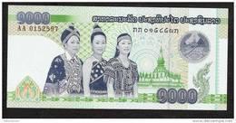 LAOS P39  1000   KIP  2008  #AA        UNC. - Laos