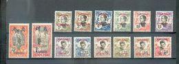 TCHONG 31 - YT 65 à 78 * - En Majorité CC - Tch'ong-K'ing (1902-1922)