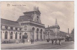 Namen- Namur  De Statie - Uitgave Star -  Stoomtram - - Namur