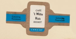 RIEMST Café  't Witte Huis  Vers 1960 - Bagues De Cigares