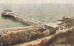 """Folkestone Pier"" Tuck Oilette Postcard # 1471 - Tuck, Raphael"