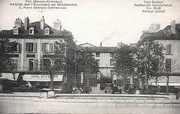 64     Pau     Place Georges Clemenceau    Notel De L'europe & Moderne - Pau