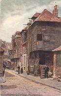"""Fishermens Quarters. Folkestone"" Tuck Oilette Postcard # 1471 - Tuck, Raphael"