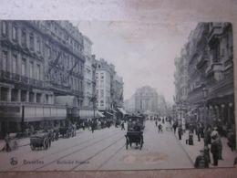 BRUXELLES : Boulevard ANSPACH Laan 1910 - Belgien